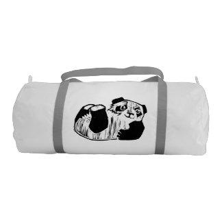 Panda Play Custom Duffle Gym Bag Gym Duffel Bag
