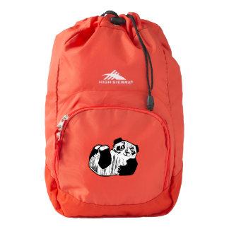 Panda Play High Sierra Backpack, Red Backpack