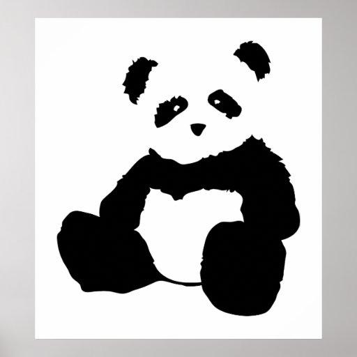 panda plush. print