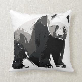 Panda polygon art illustration cushion