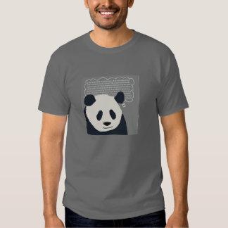 Panda Pondering Pi Tee Shirt