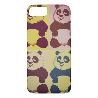 Panda Pop Art iPhone 7 Case