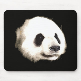 Panda Pop Art Mouse Pads