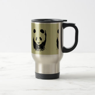 Panda Pop Art Travel Mug