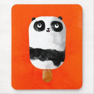 Panda Popsicle Ice Cream Mouse Pad