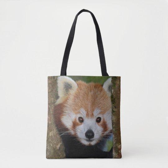 Panda Portrait All Over Print Bag