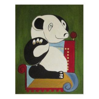 Panda Portrait Postcard