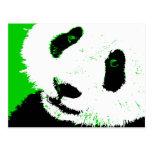 panda. post card