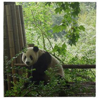 Panda Printed Napkin