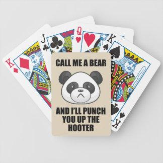 Panda Punch Playing Cards (Iris Wildthyme)