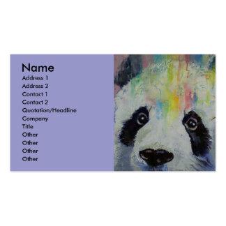 Panda Rainbow Business Card