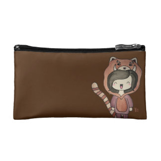 Panda Red MakeUp Bag