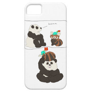 Panda Red Panda iPhone 5 Case
