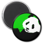 panda. refrigerator magnet