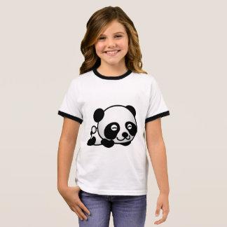 Panda Ringer T-Shirt