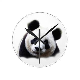 Panda Round Clock