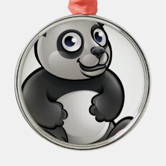Panda Safari Animals Cartoon Character Christmas Ornament