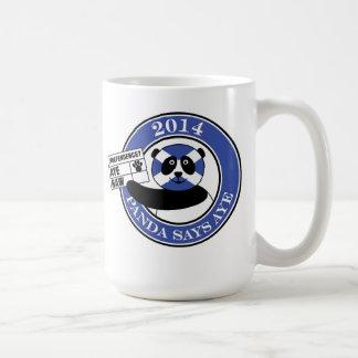 Panda says aye! mug