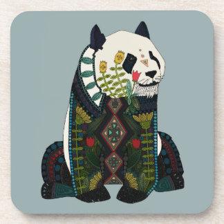 panda silver coaster