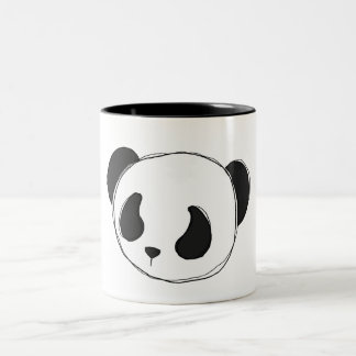 panda sketch mug