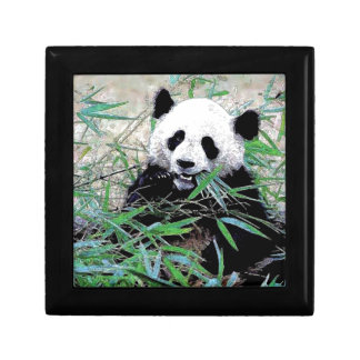 Panda Small Square Gift Box