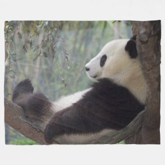 PANDA SNOOZE FLEECE BLANKET