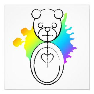 panda splatz personalized invites