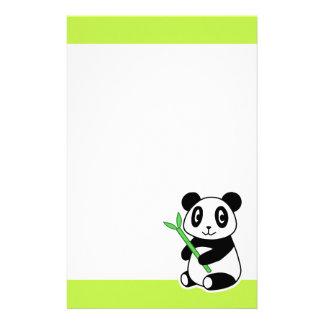 Panda Stationery Design