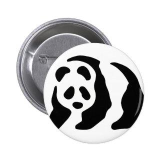 panda stencil buttons