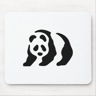 panda stencil mousepads