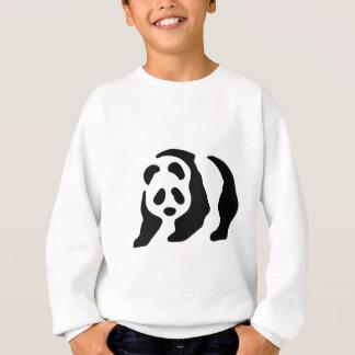 panda stencil sweatshirt