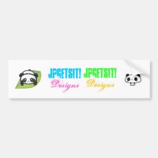 panda sticker bumper sticker