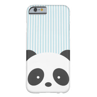 Panda striped barely there iPhone 6 case