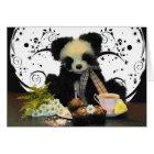 Panda Teddy Bear Birthday Card