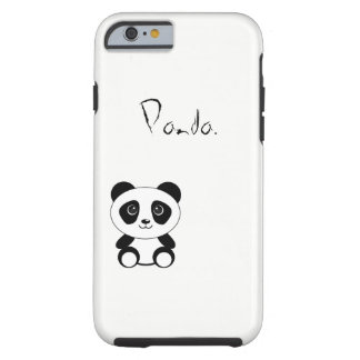 Panda. Tough iPhone 6 Case