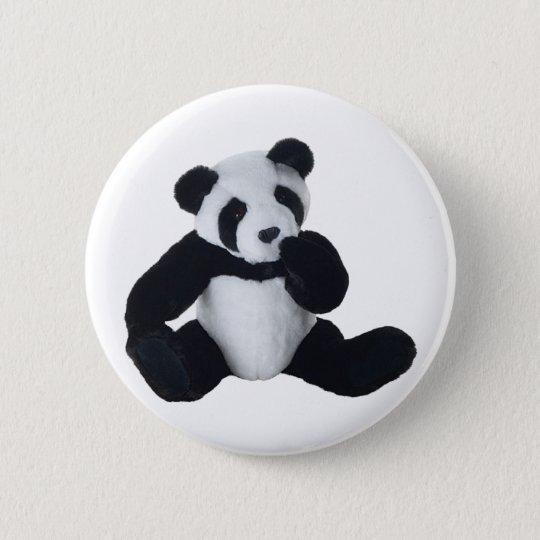 Panda Toy 6 Cm Round Badge