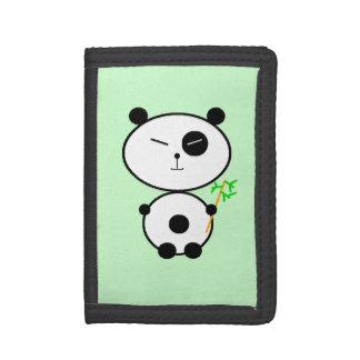 Panda Tri-fold Wallet