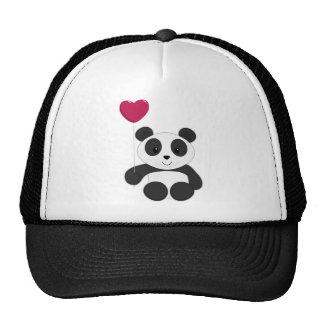 Panda Valentine Cap
