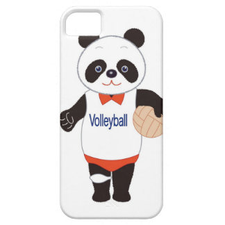 Panda Volleyball Player Barely There iPhone 5 Case