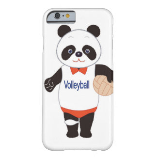Panda Volleyball Player Barely There iPhone 6 Case