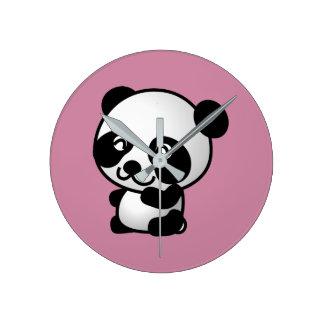 Panda Wallclock