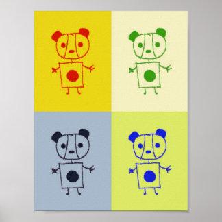 panda weird poster