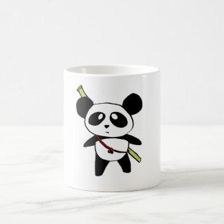 Panda with bambu stick - by MyPanda Caneca
