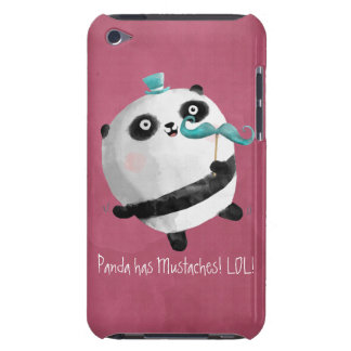 Panda with Mustaches iPod Touch Case