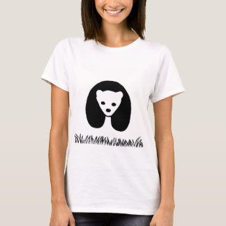 Panda women's basic t-shirt