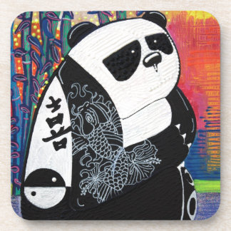 Panda Zen Master Beverage Coaster