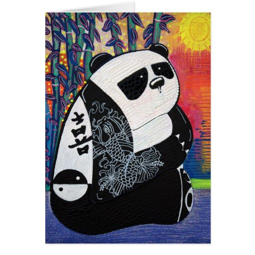 Panda Zen Master Card