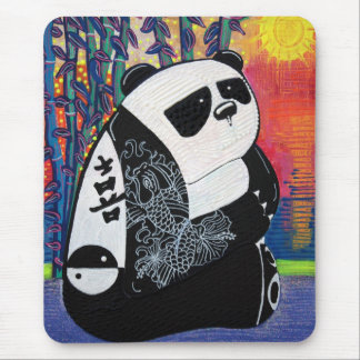 Panda Zen Master Mouse Pads