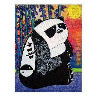 Panda Zen Master Post Card