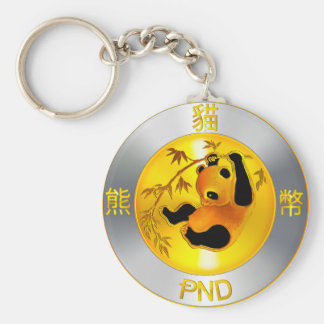 Pandacoin Swag Basic Round Button Key Ring